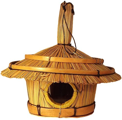 Bamboo Bird House (Medium)