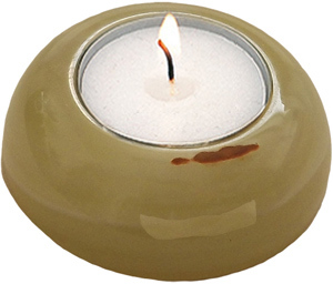 D-Shape Onyx Candle Holder