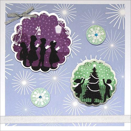 Handmade Christmas Card - Merry Christmas
