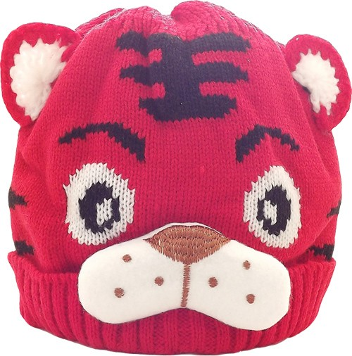 Kid's Little Tiger Hat (Red)