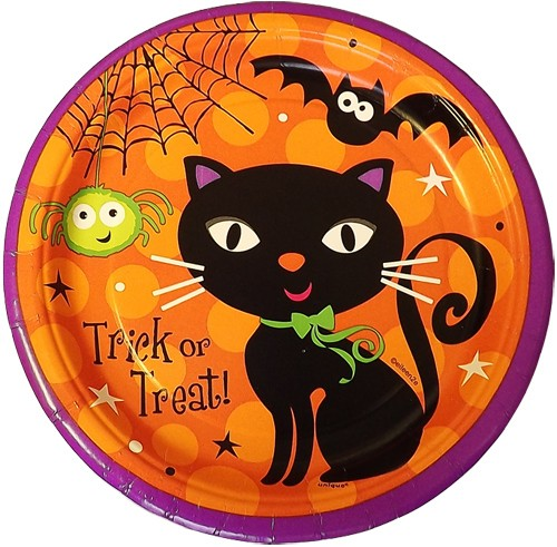 Halloween Spooky Boots Party Plates Small