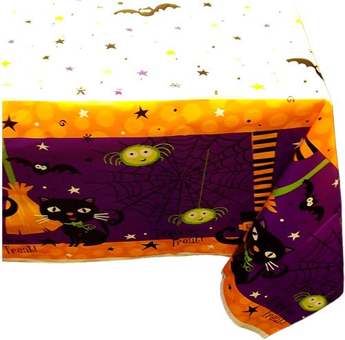 Halloween Spooky Boots Party Plastic Table Cover