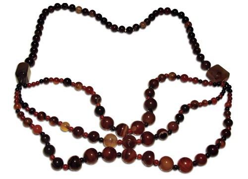Necklace Jasper + Onyx