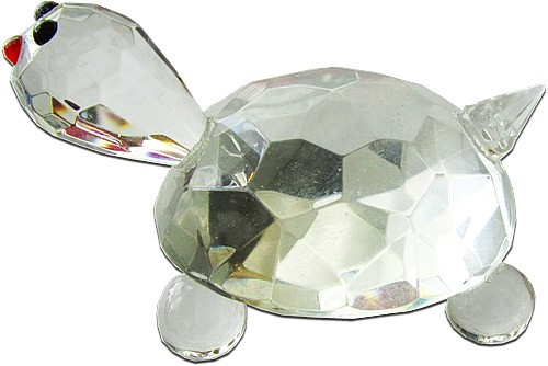 Rock Crystal Tortoise Paper Weight