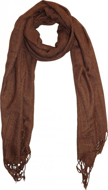 Hot Coffee Pashmina scarf