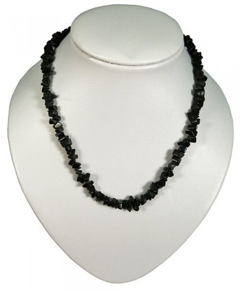 Necklace obsidian